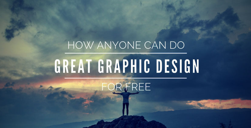 How anyone can do great graphic design for free